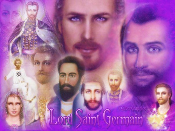 Saint Germaine and The Violet Flame
