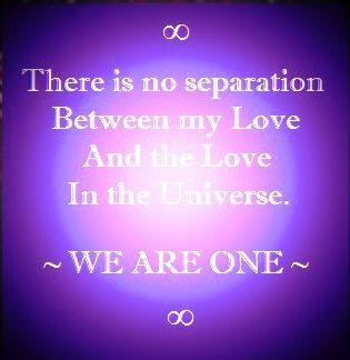 We Are One In Love